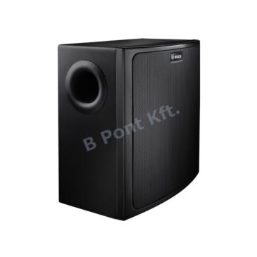 Falra szerelhető kompakt mélysugárzó  70V/100V/8Ω Fekete