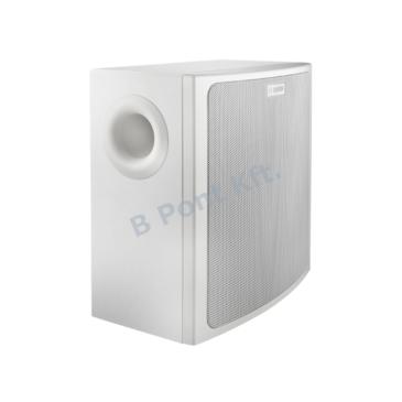 Falra szerelhető kompakt mélysugárzó  70V/100V/8Ω Fehér