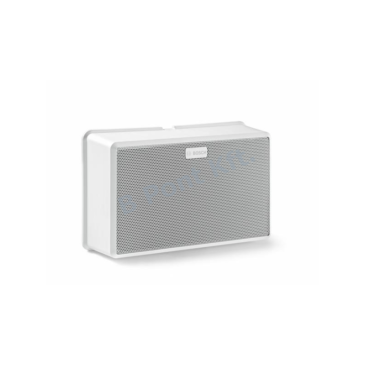 Redundáns  A/B hangszóró fehér ABS 6 W 100V Vészhangosítás
