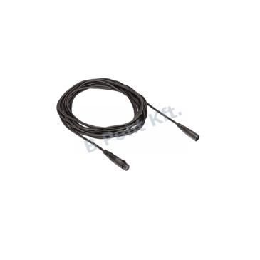 Mikrofonhosszabbító kábel csatlakozókkal 3‑tűs XLR 10 m.