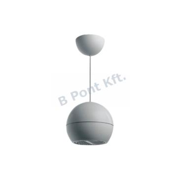 Függesztett gömb-hangprojektor kültéri ABS 10W 100V