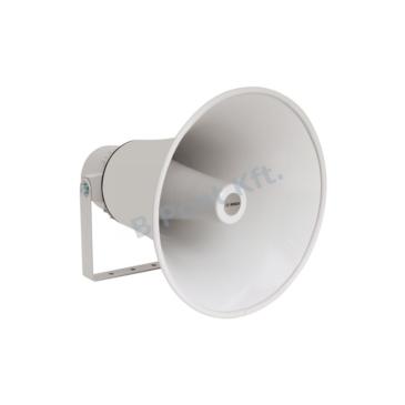Kültéri tölcsér-hangszóró Hang-/Vészhangosítás 25W 100V 14″ IP65 EN54-24