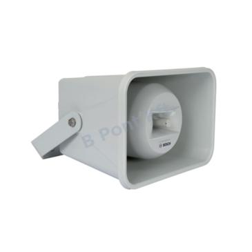 Tölcsér hangszóró Kétutas rendszer Hang-/Vészhang ABS 30W 14×10″ EN54-24