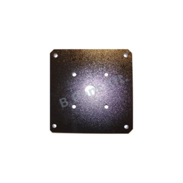 Fali súlyelosztó lemez fekete