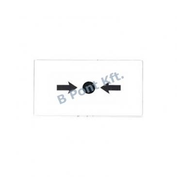 FDM275-O kézi jelzésadóhoz tartalék üveg